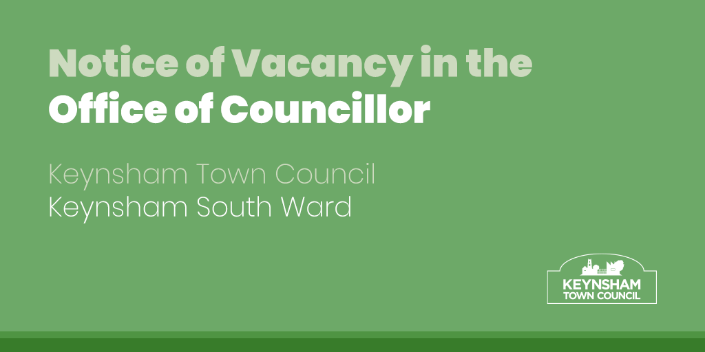 Notice of Councillor Vacancy